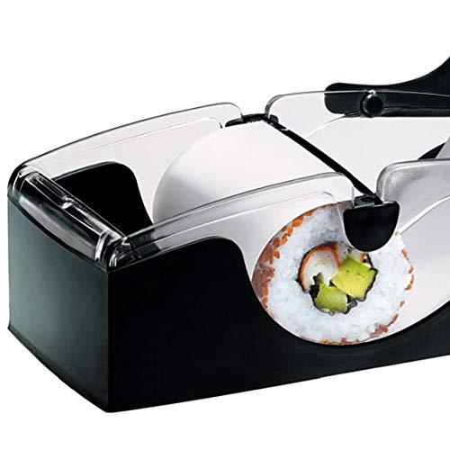 LjzlSxMF Perfekte Sushi Roll Machine Sushi-Maschine Roller Ausrüstung DIY Kitchen Magic Gadget Küchenzubehör Schwarz