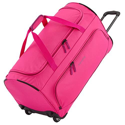 Travelite Basics Trolley Reistas FRESH op wieltjes, roze (roze) - 096277-17