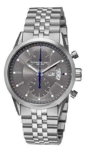 Raymond Weil Unisex Analog automatisch Uhr mit Edelstahl beschichtet Armband 7735-ST-60001