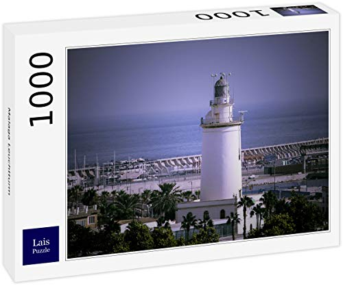 Lais Puzzle Faro de málaga 1000 Piezas
