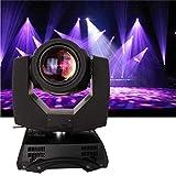 Yonntech 230W DMX512 Controllo audio Rotazione automatica 8/16 canali Arcobaleno 14 colori Cambiamento della testa Moving Light luci LED Stage Gob modello lampada per Disco KTV Club Party (16 prisma)