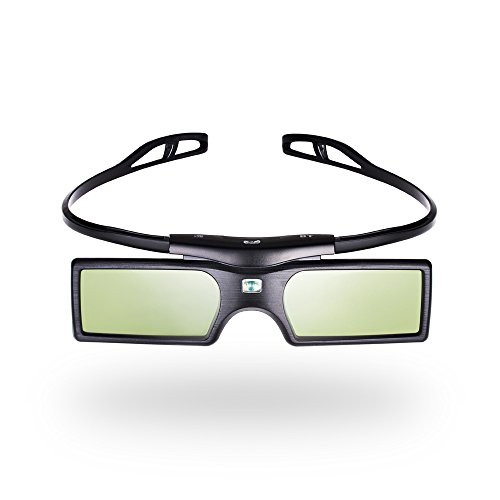 Pergear Cool 3D Active Shutter Glasses Bluetooth Eyewear Glasses for Samsung/Panasonic/LG Bluetooth 3D TVs