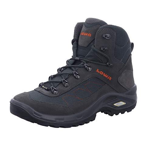 Lowa Taurus II GTX® MID Unisex Wanderstiefel Tracking Outdoor Goretex Anthrazit, Schuhgröße:41.5 EU