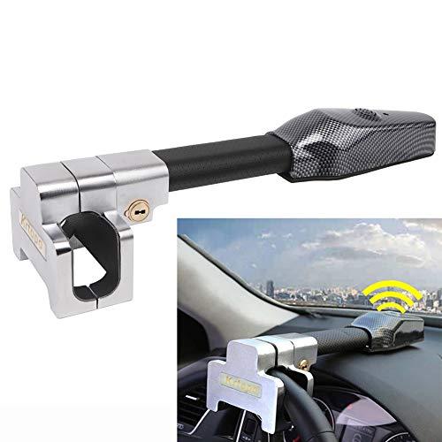 Lenkradschloss Alarm Sicherheit lenkradkralle für Auto Anti Diebstahl Verschluss Einziehbare Schutz T-Lock