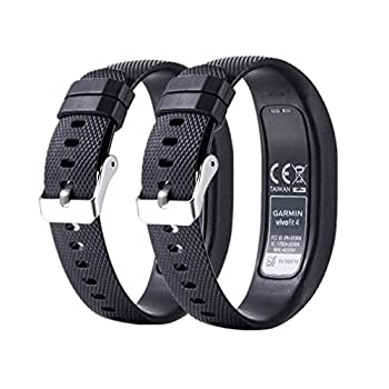 MEIRUO Replacement Accessory Fitness Band for Garmin Vivofit 4 Wristband for Garmin Vivofit 4  L Color 1