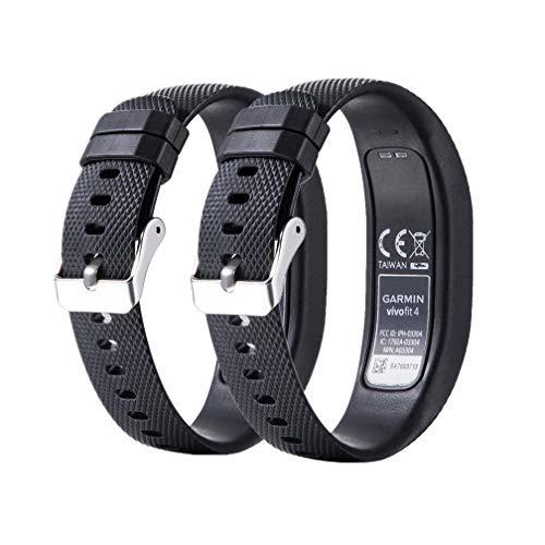 Meiruo Ersatz Zubehör Fitness Band für Garmin Vivofit 4, Armband für Garmin Vivofit 4 (S, Colour 1)