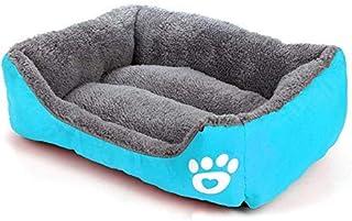 WLT XL حجم حلوى اللون مربع بيت الكلب صديق للبيئة حصيرة السرير أريكة الحيوانات الأليفة لمختلف مستلزمات الكلاب