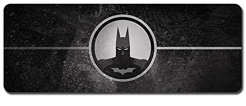 Batman Mouse Pad,Professional Large Gaming Mouse Pad, Classic Pattern Mouse mat,Extended Size Desk Mat Non-Slip Rubber Mouse Mat,Movie (800 × 300× 2 mm / 31.5 × 11.8 × 0.1 inch, 5)