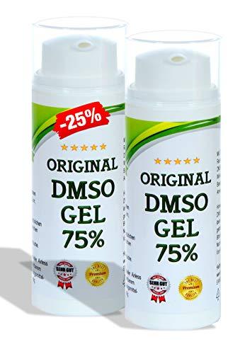DMSO Magnesium Gel 75 / Salbe - Magnesiumöl Mischung Dimethylsulfoxid 99,9% Reinheit + Magnesiumchlorid (100ml)