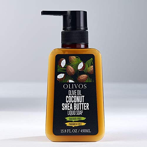OLIVOS Olive Oil COCONUT SHEA BUTTER 450ML. Olivtvål