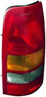 Depo 335-1901L-AF Chevrolet Silverado/GMC Sierra Driver Side Replacement Taillight Assembly (NSF Certified)