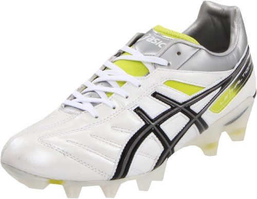 ASICS Men's Lethal Tigreor 4 IT Soccer Shoe,Black/White/Pacific Blue,15 M US