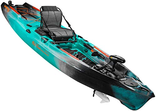 Old Town Sportsman AutoPilot 136 Motorized Fishing Kayak with Minn Kota Trolling Motor (Photic Camo)