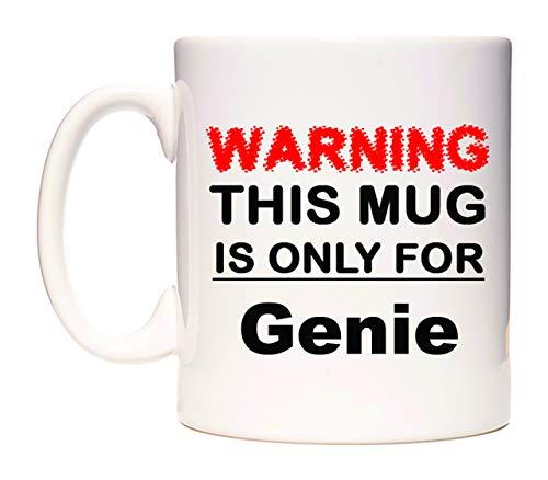 Warning This Mug is ONLY for Genie Taza por WeDoMugs®