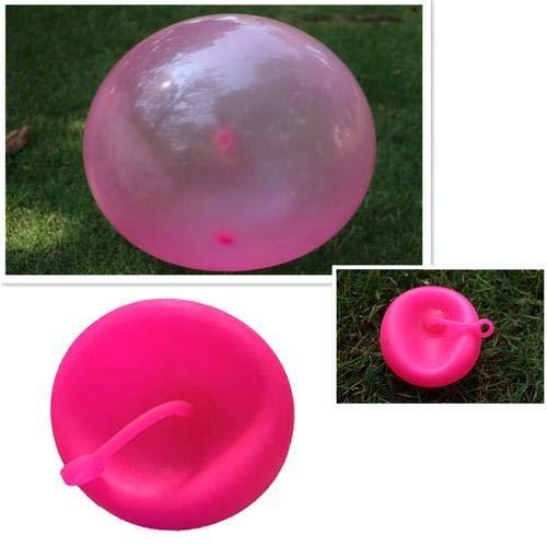 Globo inflable de 60 cm de grosor, juguete de burbuja, suave, ligero, hinchable, pelota de agua para playa, jardín o fiesta