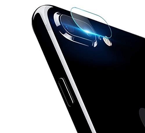 REY Protector de Pantalla Cámara Trasera iPhone 8 Plus/iPhone 7 Plus, Cristal Vidrio Templado Premium