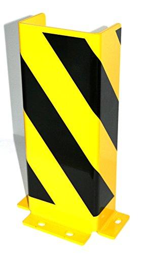 8 Einschlagd/übel M12 Rammschutz SET 400x165x165x5 mm konisch inkl 2 St/ück Marke: Szagato Anfahrschutz Regalschutz Rammschutzecke Made in Germany
