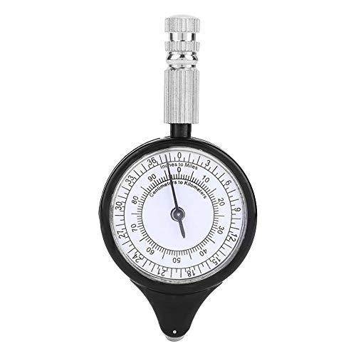 Beste afstandsmeter, opisometer, afstandsmeter, rekenmachine, kompas, wandelen, kamperen, voor survival in de vrije natuur.