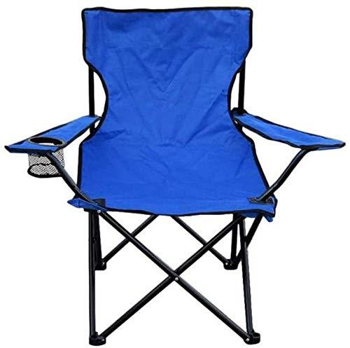 Kaper Go Silla portátil Apoyabrazos Comprar Toxz plegable con bolsa de almacenamiento, for la playa de arena de excursión que acampa al aire libre Montañismo Pesca Quad silla del asiento portátil, imp