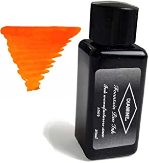 Diamine Fountain Pen Bottled Ink, 30ml - Orange