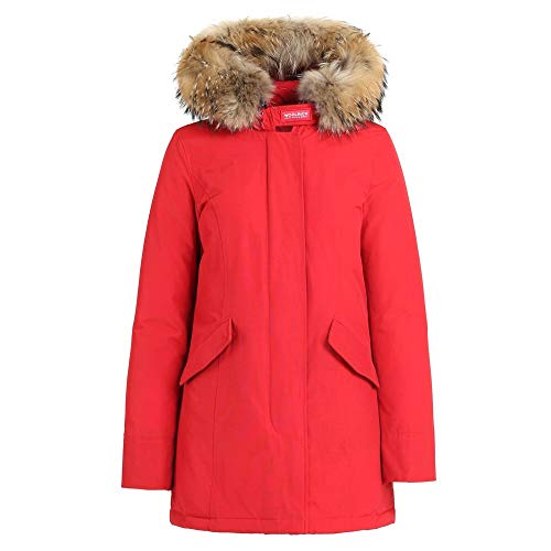 Woolrich Artic Parka Giubbotto Rosso da donna Modello WWCPS1447 CN02 Rfk tg. XS