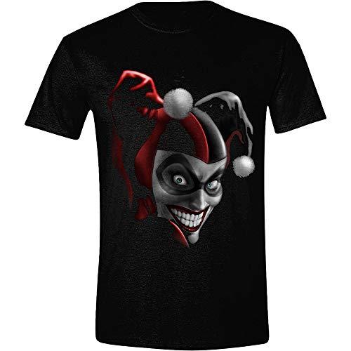 DC Comics - Harley Scary Airbrush Herren T-Shirt - Schwarz - M