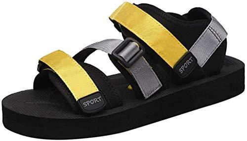 LCFF Chanclas Playa de los Hombres Sandalias del Verano de los Zapatos Abiertos del Dedo del pie Deporte de la Manera Parejas Pisos Zapatos al Aire Libre de Atletismo