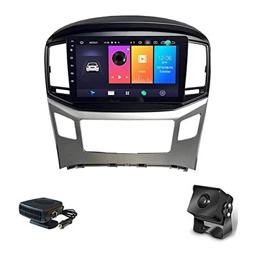 para Hyundai H1 2015~2018 Android 9 Unidad Principal Estéreo De Radio De Coche Se Adapta A Radio 9 Pulgadas HD Pantalla Táctil Navegación GPS con Bluetooth Control del Volante (4G+WiFi: 2+32G)