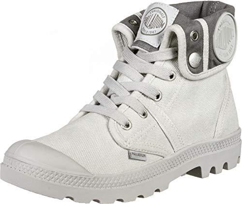 Palladium Us Baggy W, Sneakers Hautes femme, Gris (869 Vapor/Metal), 37 EU
