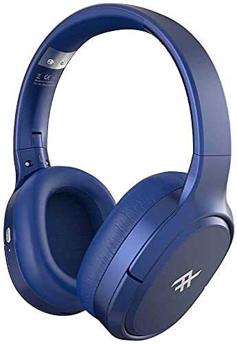 iFrogz - Airtime Vibe Wireless on Ear Headphones with Active Noise-canceling Technology - Retail Packaging - Blue