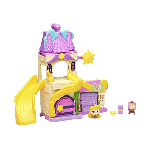 Doorables- Playset Fantasy de Rapunzel, mini muñecas Disney para coleccionar, Multicolor (Famosa 700014656) , color/modelo surtido