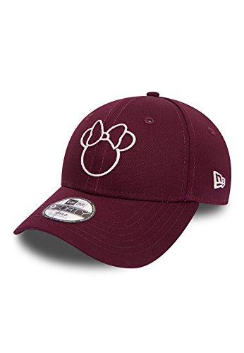 New Era Disney Silhouette 9Forty Adjustable Kinder Cap MINNIE MOUSE Bordeaux, Size:Youth