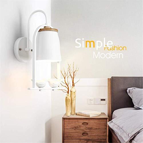 L-C plafondlamp nordic slaapkamer nachtlampje eenvoudige moderne creatieve siel vogel muur lamp hout woonkamer tv muur lamp
