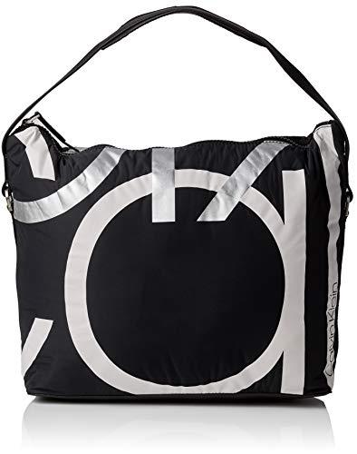 Calvin Klein Jeans - Loud Hobo, Shoppers y bolsos de hombro Mujer, Negro (Black), 17x33x37 cm (B x H T)
