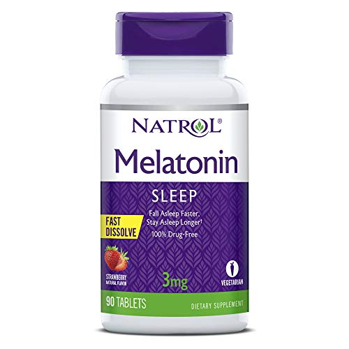 Natrol Melatonin 3mg Fast Dissolve Tablets