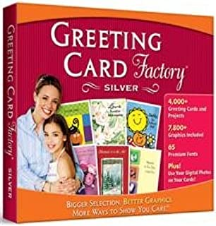 Greeting Card Factory Silver (Jewel Case)