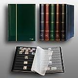 Prophila Leuchtturm clasificador 60 Paginas Negro, Verde Colore