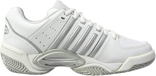 K-Swiss Performance K-Swiss Performance Damen ACCOMPLISH LTR Tennisschuhe, Weiß (White/Silver/GlcrGray), 39.5
