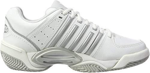 K-Swiss Performance K-Swiss Performance Damen ACCOMPLISH LTR Tennisschuhe, Weiß (White/Silver/GlcrGray), 39 EU