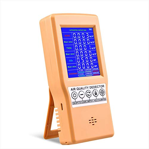 Handluftqualit?tsdetektor 131SC Formaldehyddetektor Kohlendioxidtester 360 Minuten Lange Standby