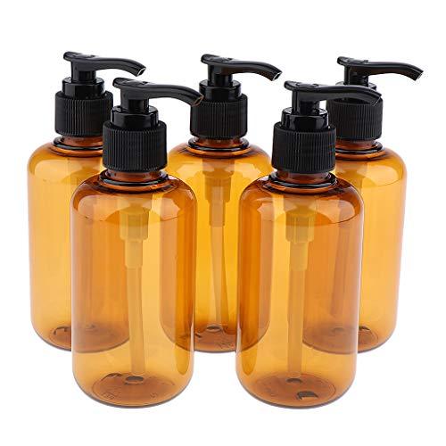 MERIGLARE 5 Piezas Botella de Spray Vacía Cosmética Maquillaje Perfume de Viaje Loción - 200ml
