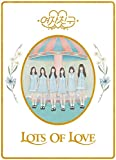 G-Friend GFRIEND LOL [Lots of Love ver.] (Vol.1) - CD + fotobook+Letter+Paper Doll+3Postcard+Sticker Pack+2Photocards + Double side Extra Photocards Set