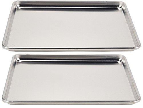 Vollrath 2-Piece Wear-Ever Half-Size Sheet Pans Set, 18-Inch x...