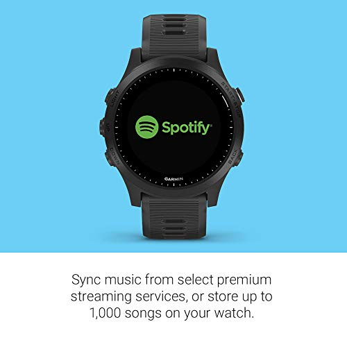 Garmin 010-02063-00 Forerunner 945 - Reloj inteligente GPS para carrera/triatlón con música, color negro