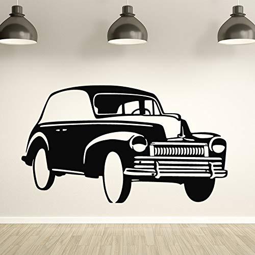 Hermosas pegatinas de pared de coches para hombres decoración del hogar sala de estar dormitorio pegatinas de arte de pared a prueba de agua extraíbles otro color 43x75cm