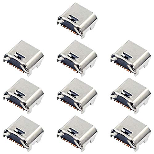 Repuestos móviles Conector de Puerto de Carga de 10 PCS for Galaxy Tab 3 Lite 7,0 T110 T111 SM-T110 SM-T111