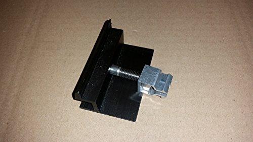 PROFINESS KlickFix-Modul-Endklemme schwarz eloxiert, komplett vormontiert zur Befestigung von Photovoltaik-Modulen mit schwarzen Rahmen, Rahmenstärke 35mm