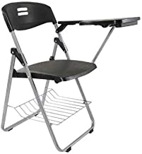 Mahmayi Kelvin S234A Folding Student Chair, Black, 6.74 kg, JXS234A