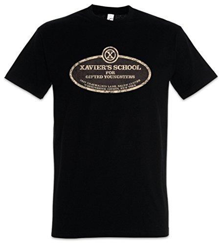 Urban Backwoods Xavier\'s School for Gifted Youngsters Herren T-Shirt Schwarz Größe M