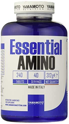 Yamamoto Nutrition Essential Amino, 240 Tablets, 395 g